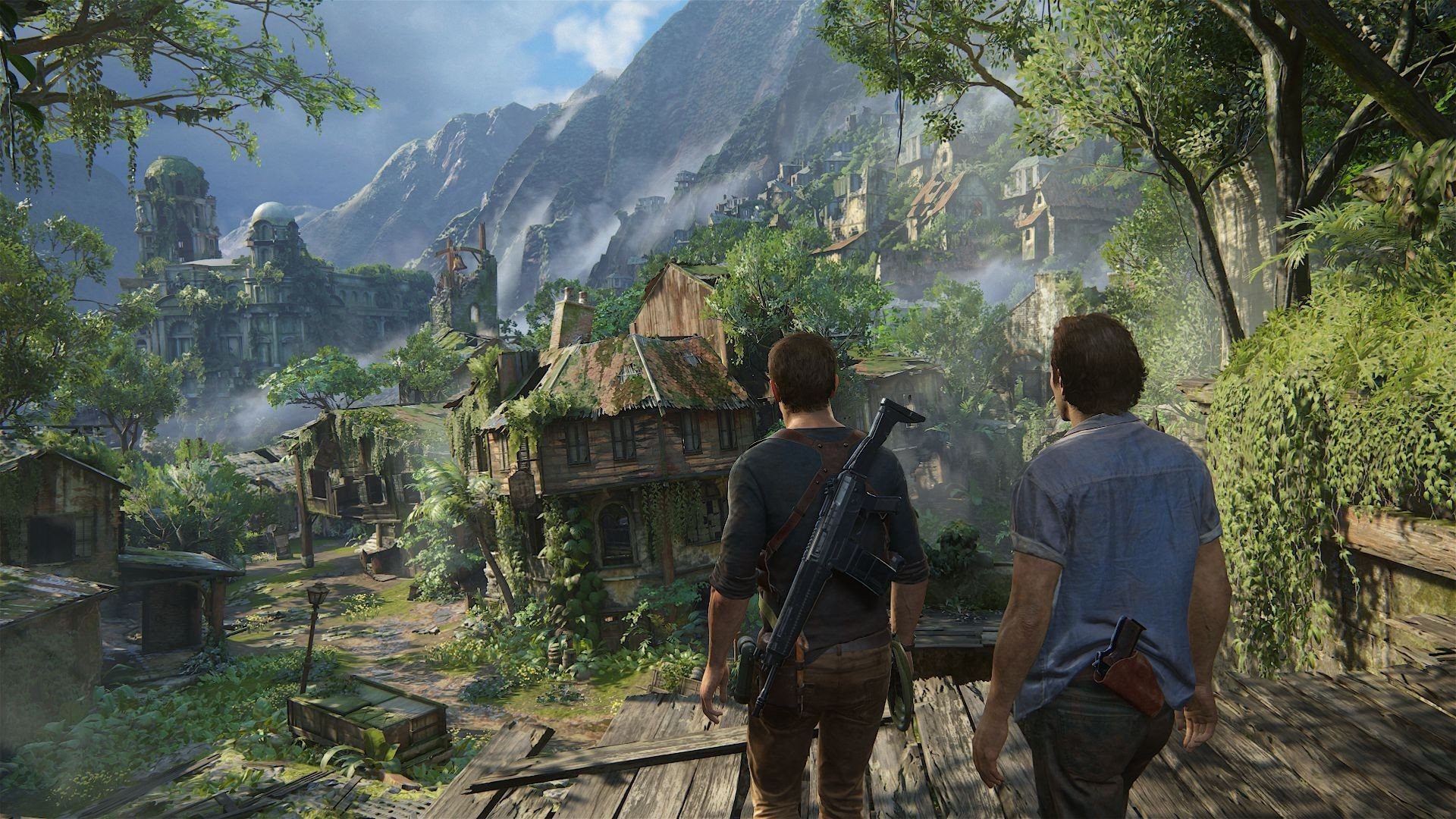 Uncharted 4 Chapter 14 Join Me In Paradise Usgamer