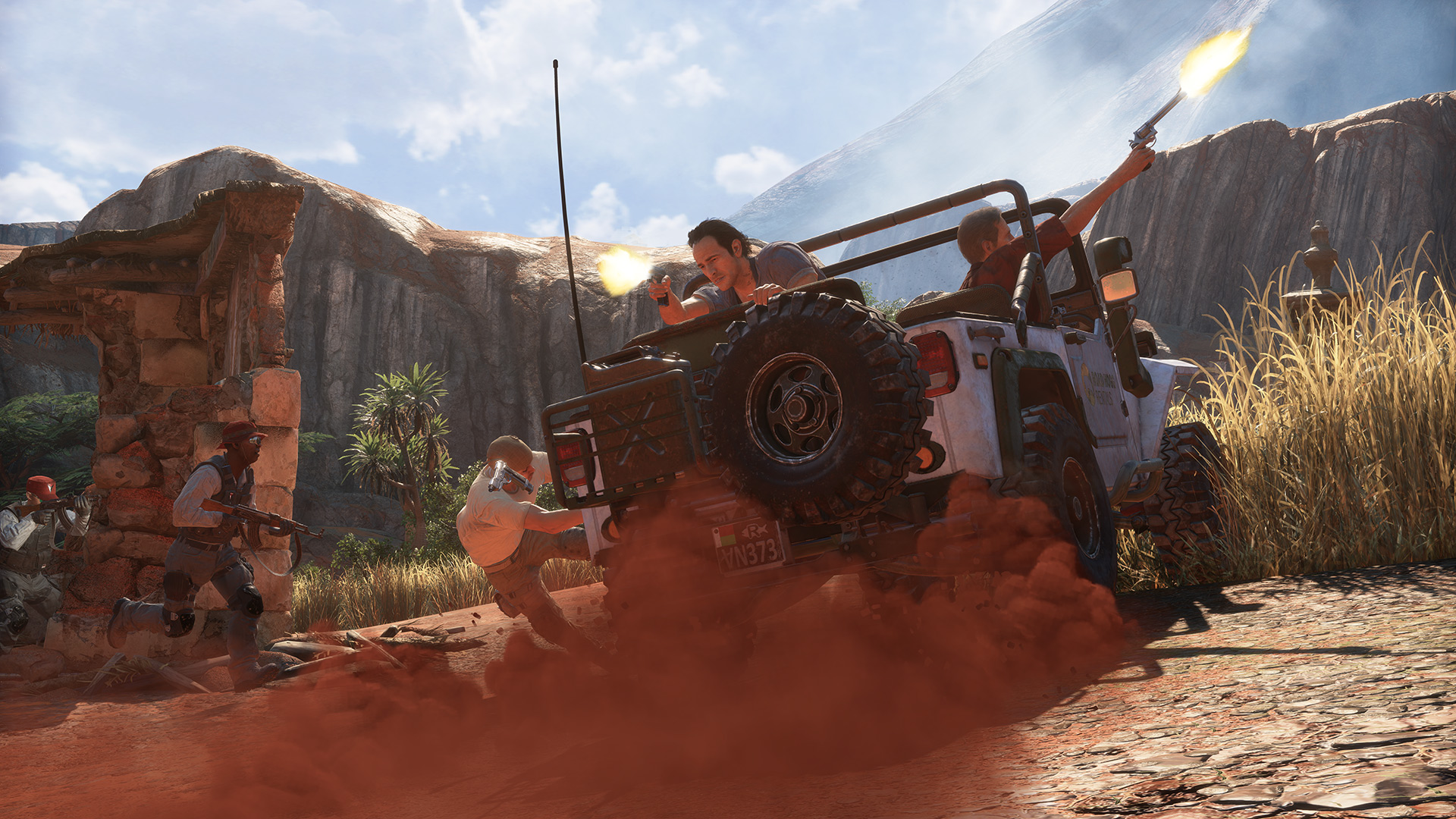 Uncharted 4 a thief 39 s end ps4 review greatness from - Uncharted 4 wallpaper ps4 ...