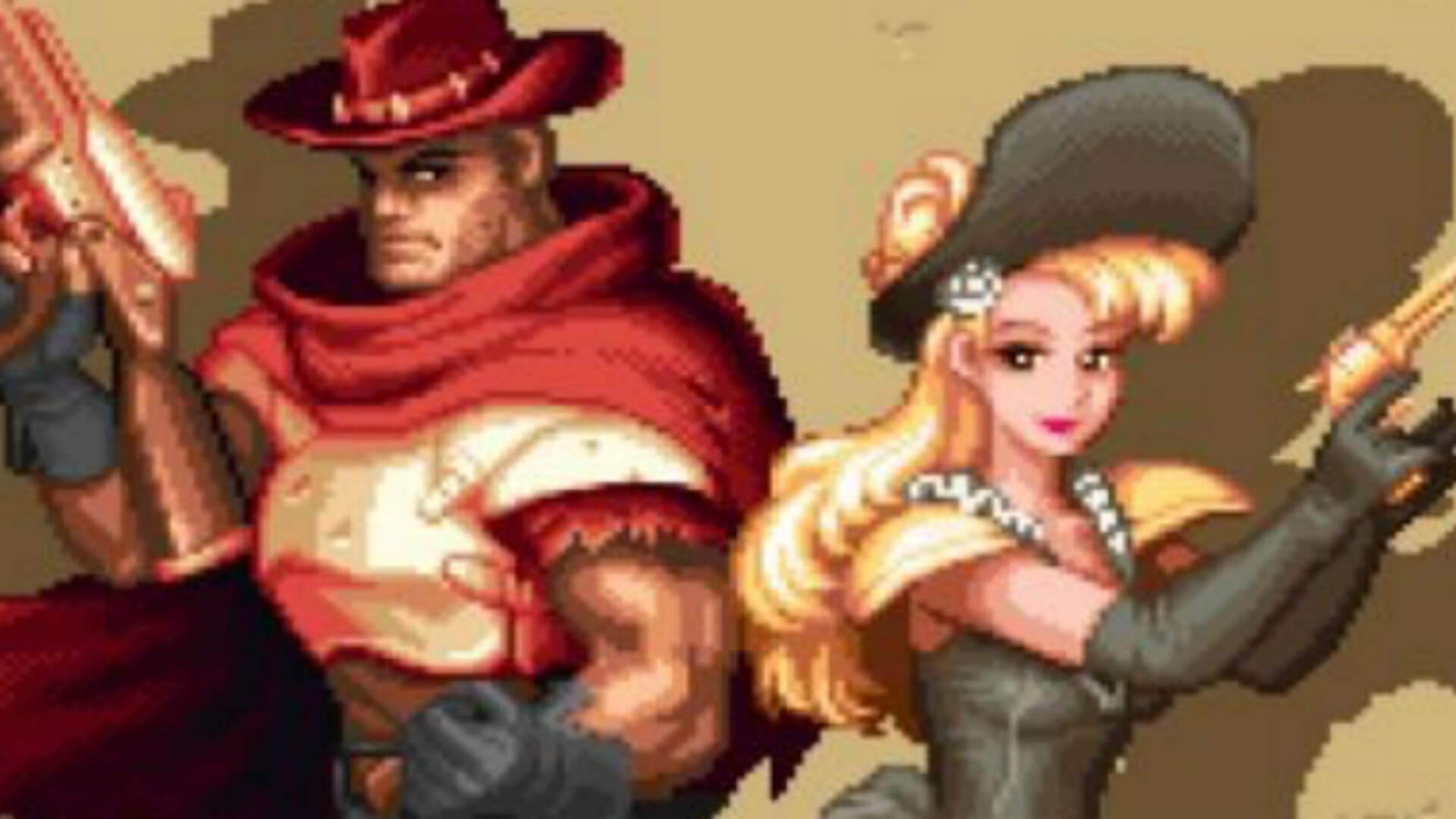 Wild Guns Returns 22 Years Later for PS4
