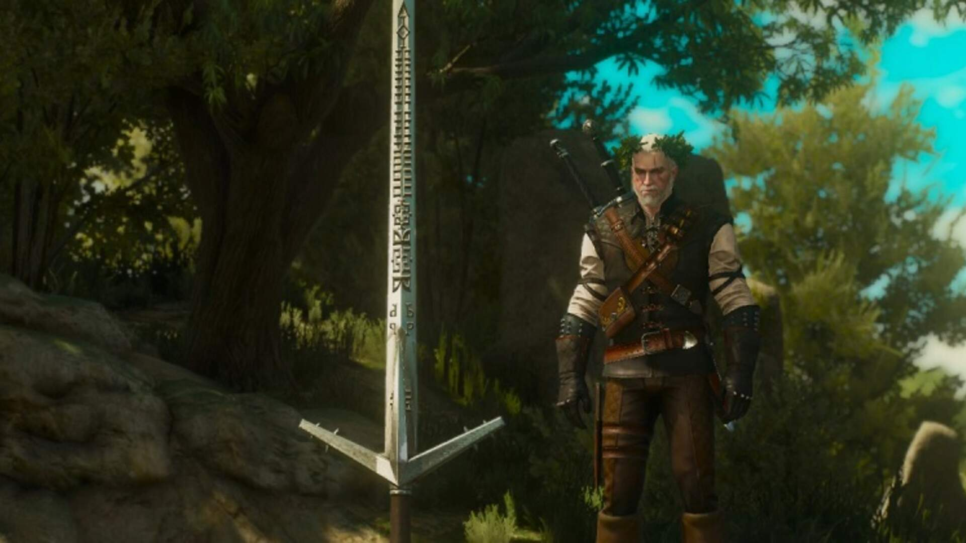 The Witcher 3 Best Weapon - How to Get the Aerondight Sword
