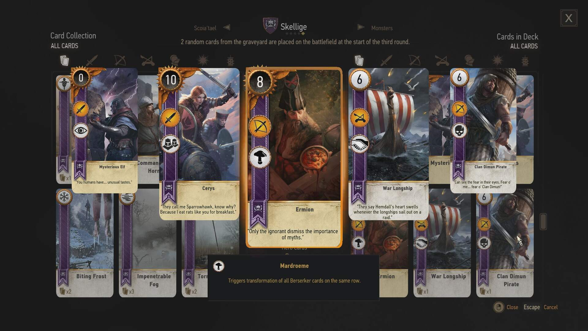 The Witcher 3 Card Game Spinoff, Gwent, Enters Public Beta