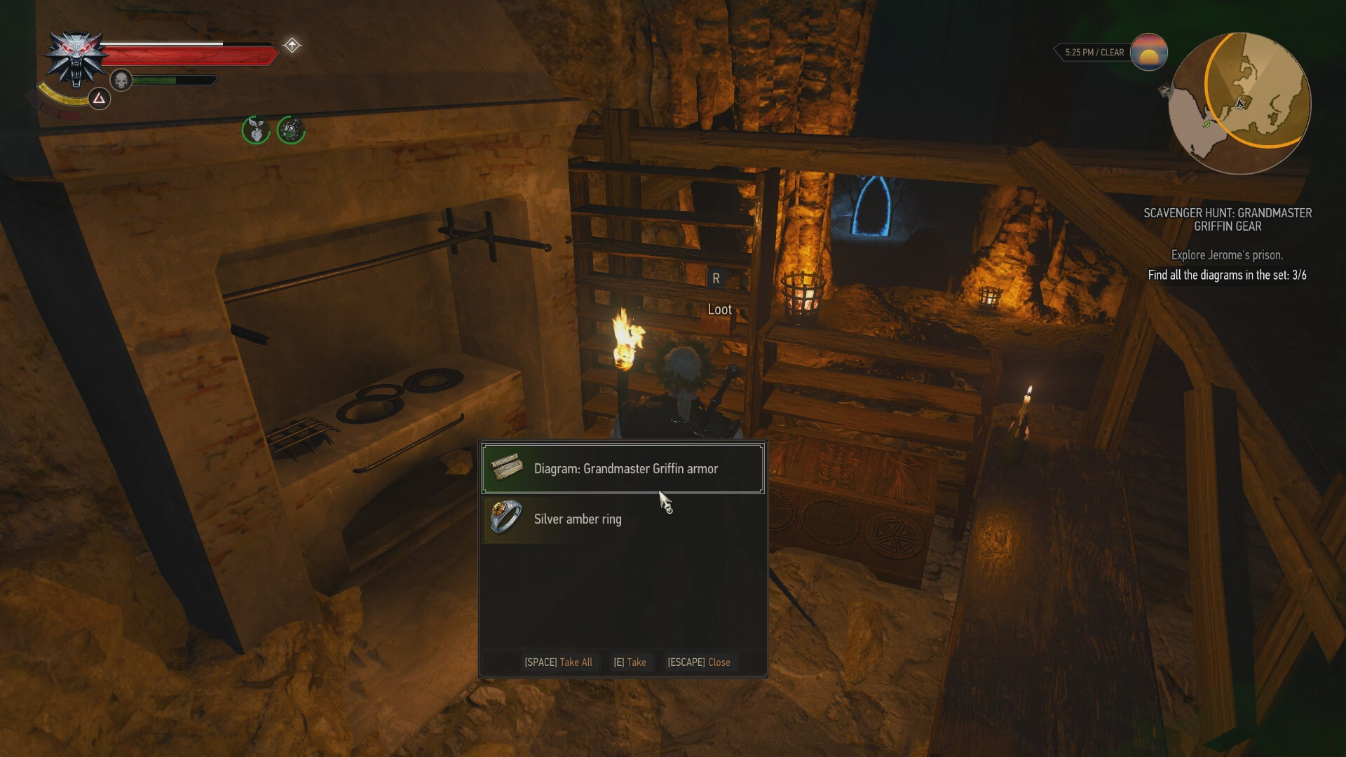 The Witcher 3 How To Get The Grandmaster Griffin Gear Usgamer