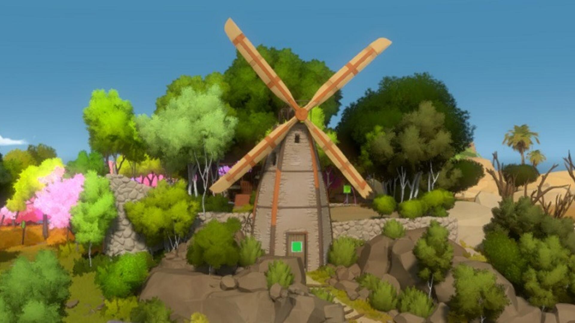 The Witness - Windmill Movie Theater Hexagon Puzzle Solutions