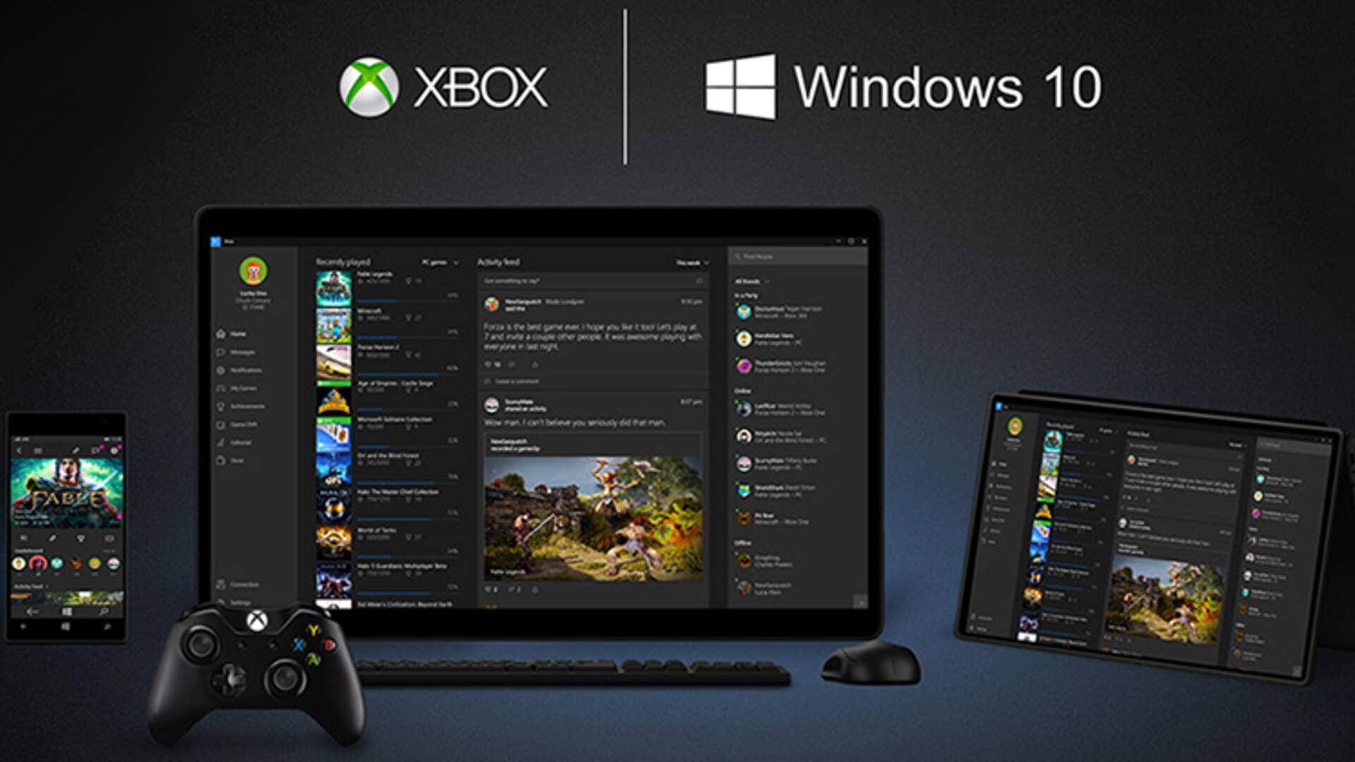 Xbox and Windows 10 Come Together, Could Bring Smartphone-Style Upgrades to Consoles