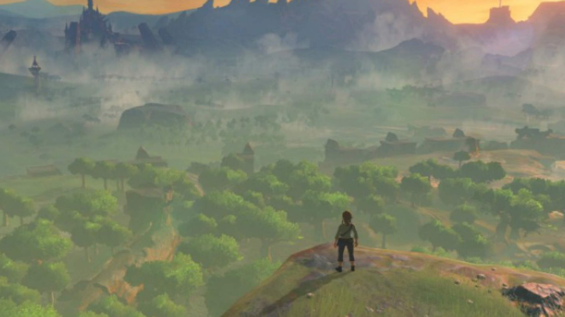 Legend of Zelda: Breath of the Wild Looks Stunning