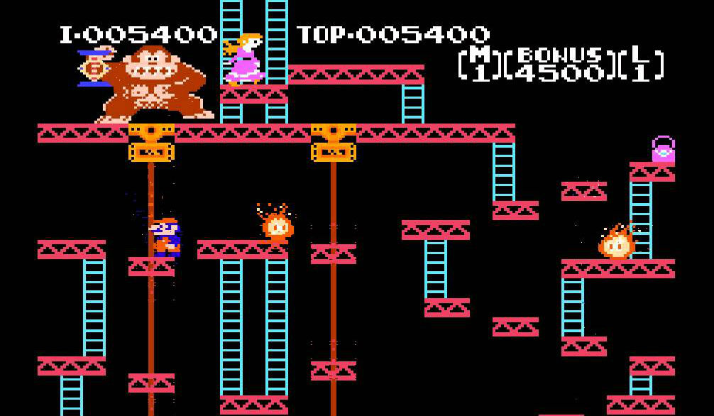Image result for Donkey Kong NES