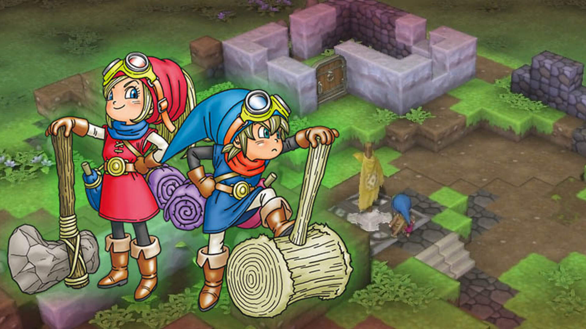 Fall Games Preview 2016: Dragon Quest Builders Makes a Fine Cornerstone for the Series' American Reconstruction