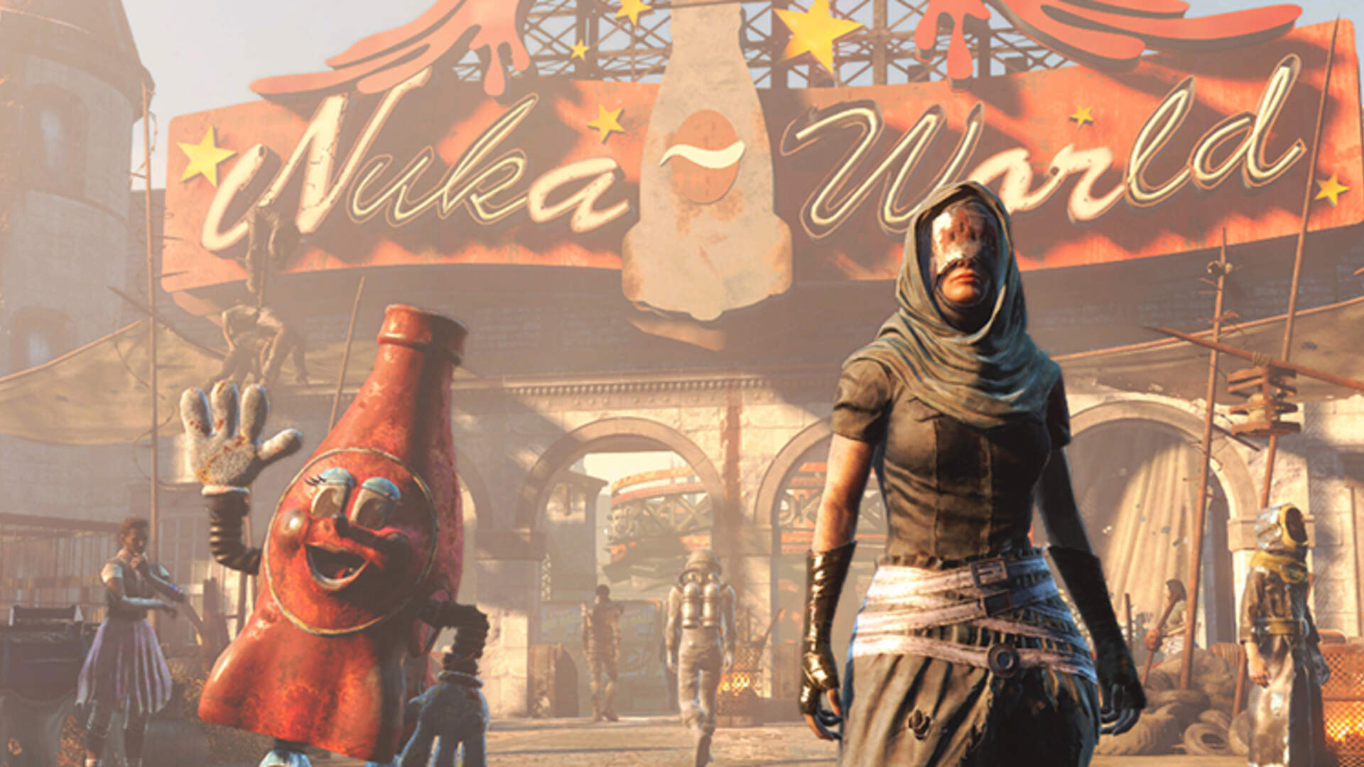 Fallout 4 Nuka World Dlc Review Empty Calories Usgamer