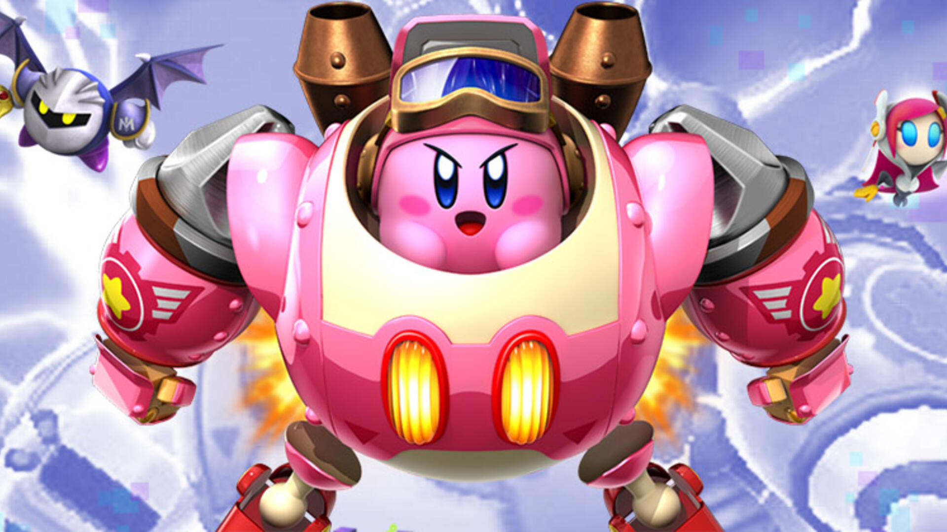 Kirby: Planet Robobot 3DS Review: A Gundam Good Time