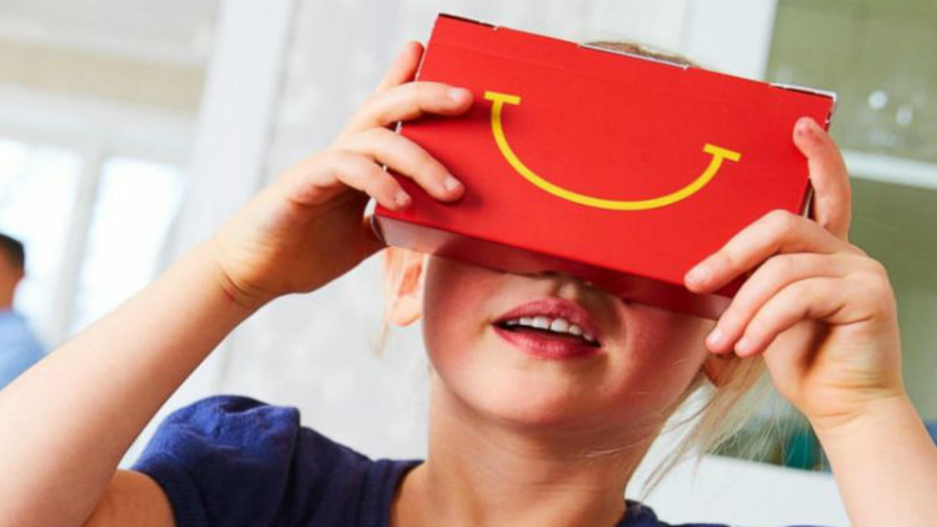 Coke, McDonald's Get Kids into Virtual Reality With Cheap VR Headsets