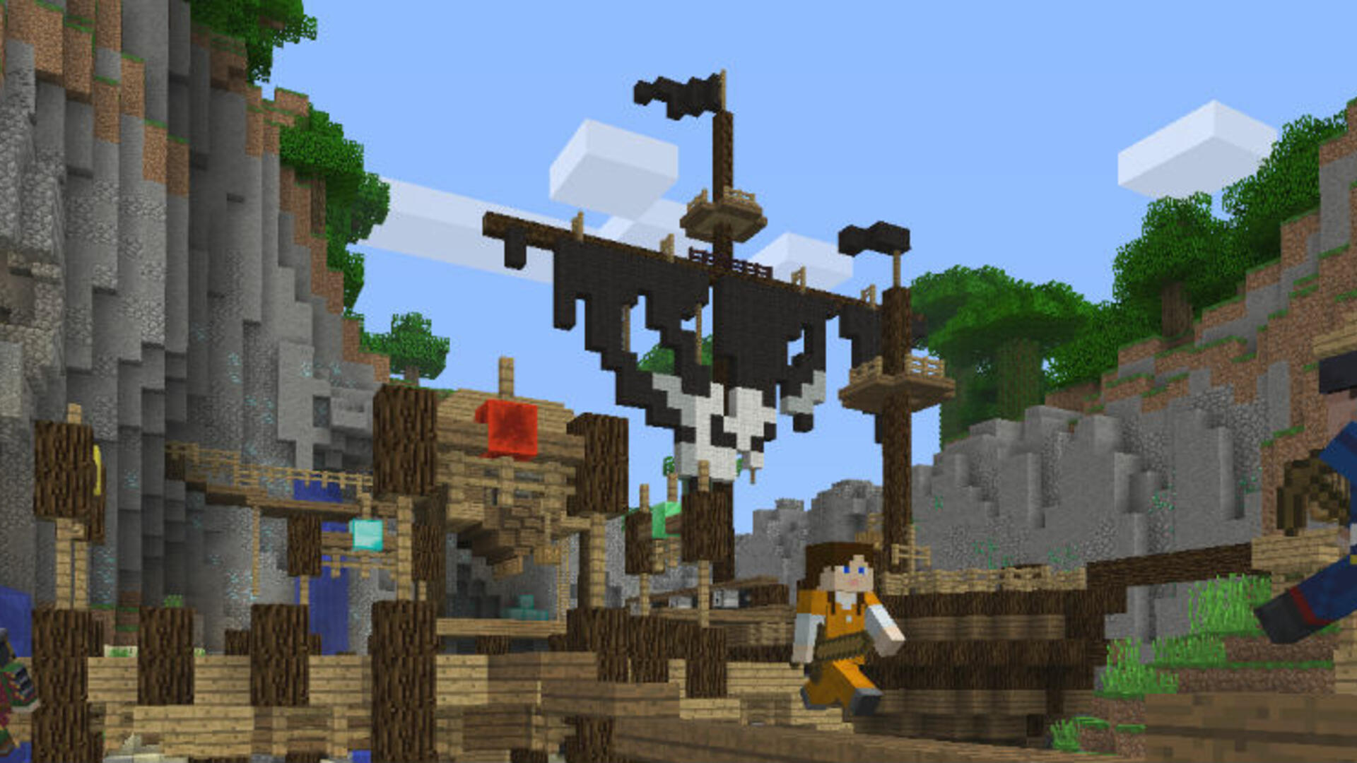 Minecraft Battle PvP Preview: Wield a Mighty Porkchop Against Your Foes