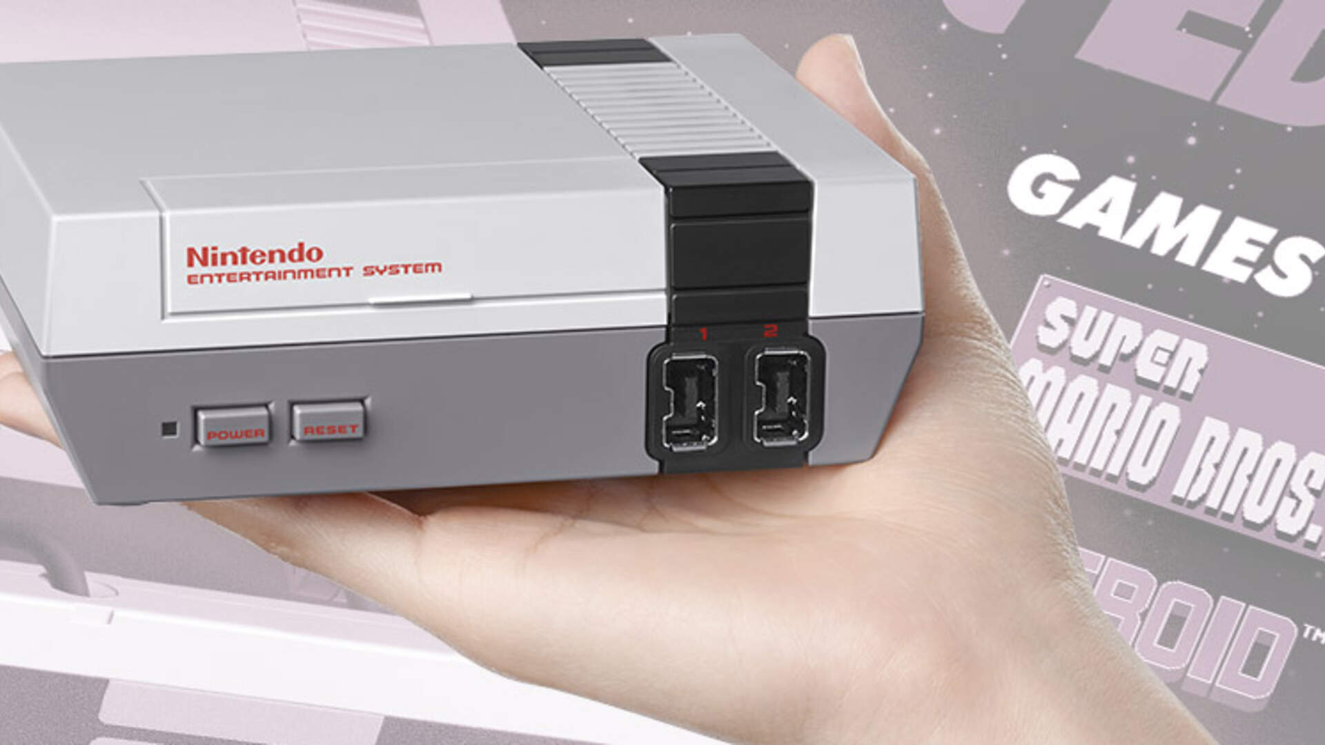 Now You Re Playing With Teeny Tiny Power Nintendo Announces Retro Nes Console Usgamer