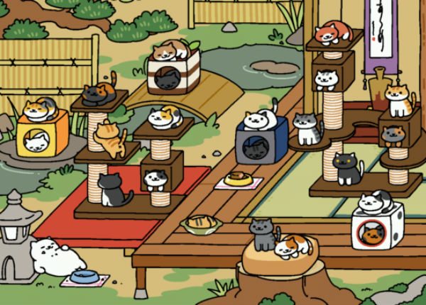 Neko Atsume How To Get More Cats How To Understand Power Levels