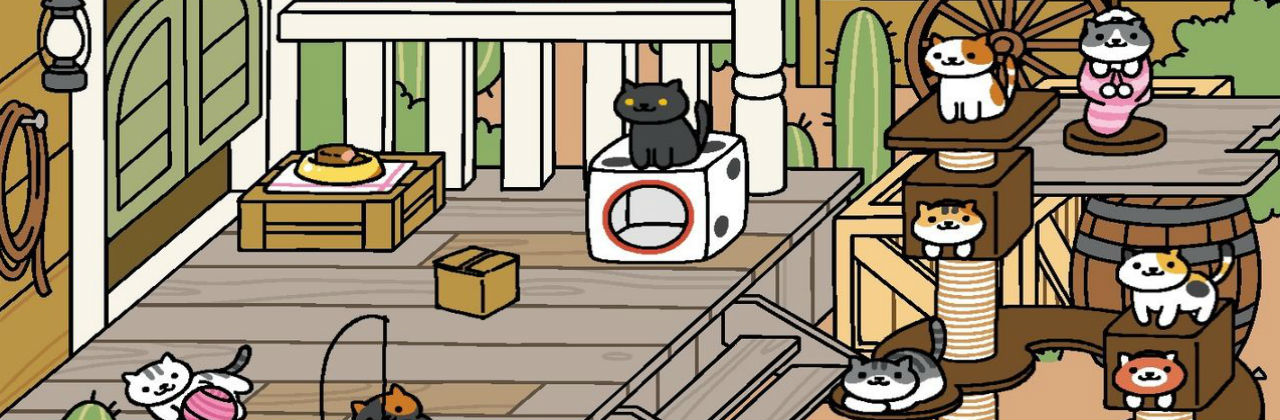 Neko atsume game taught me everything about dating