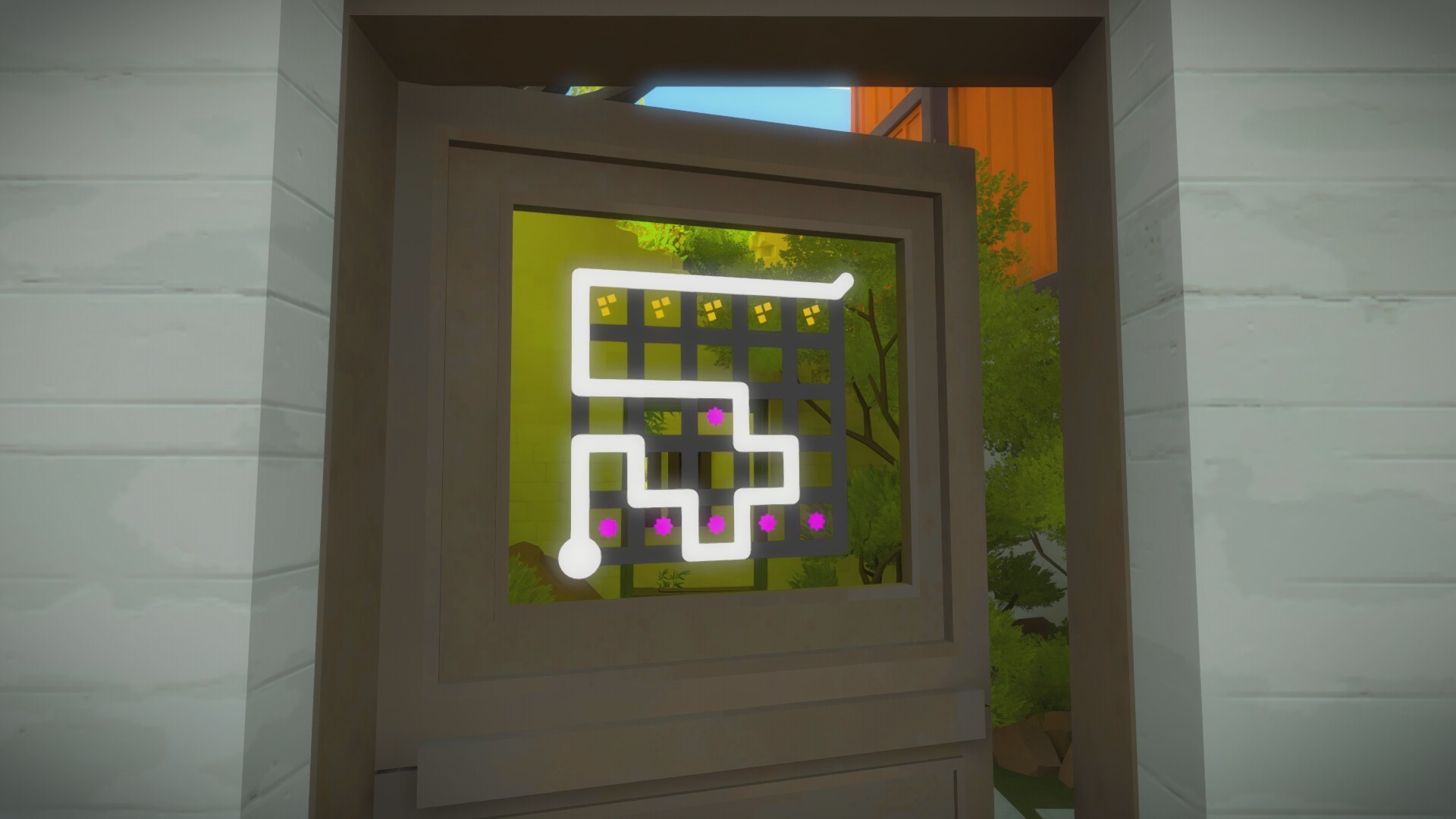 The Witness The Town Puzzle Solution Usgamer