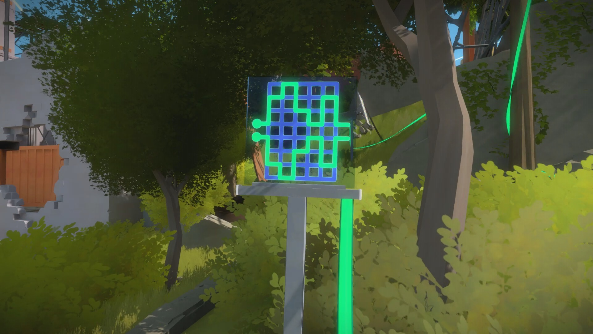The Witness - The Town Puzzle Solution | USgamer