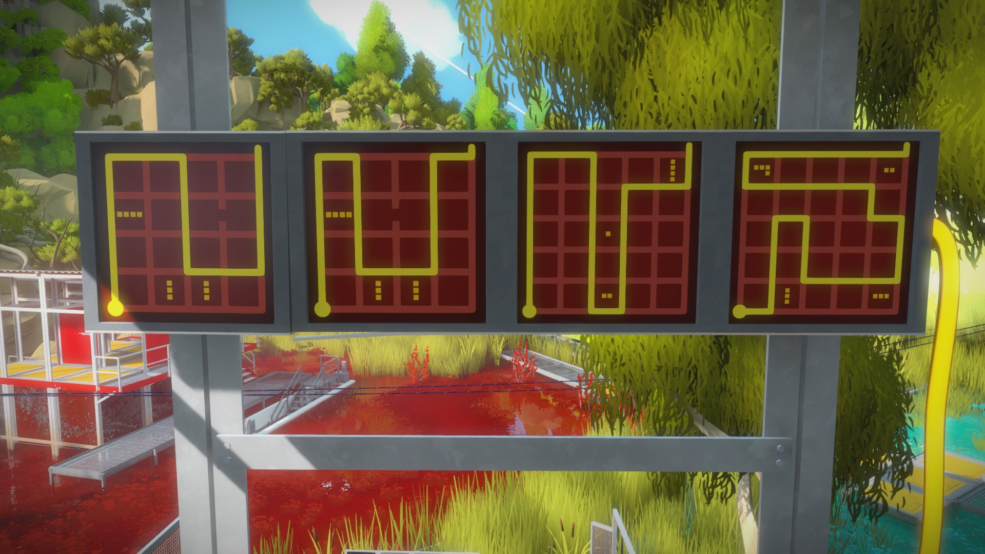 The Witness - The Marsh Puzzle Solution | USgamer
