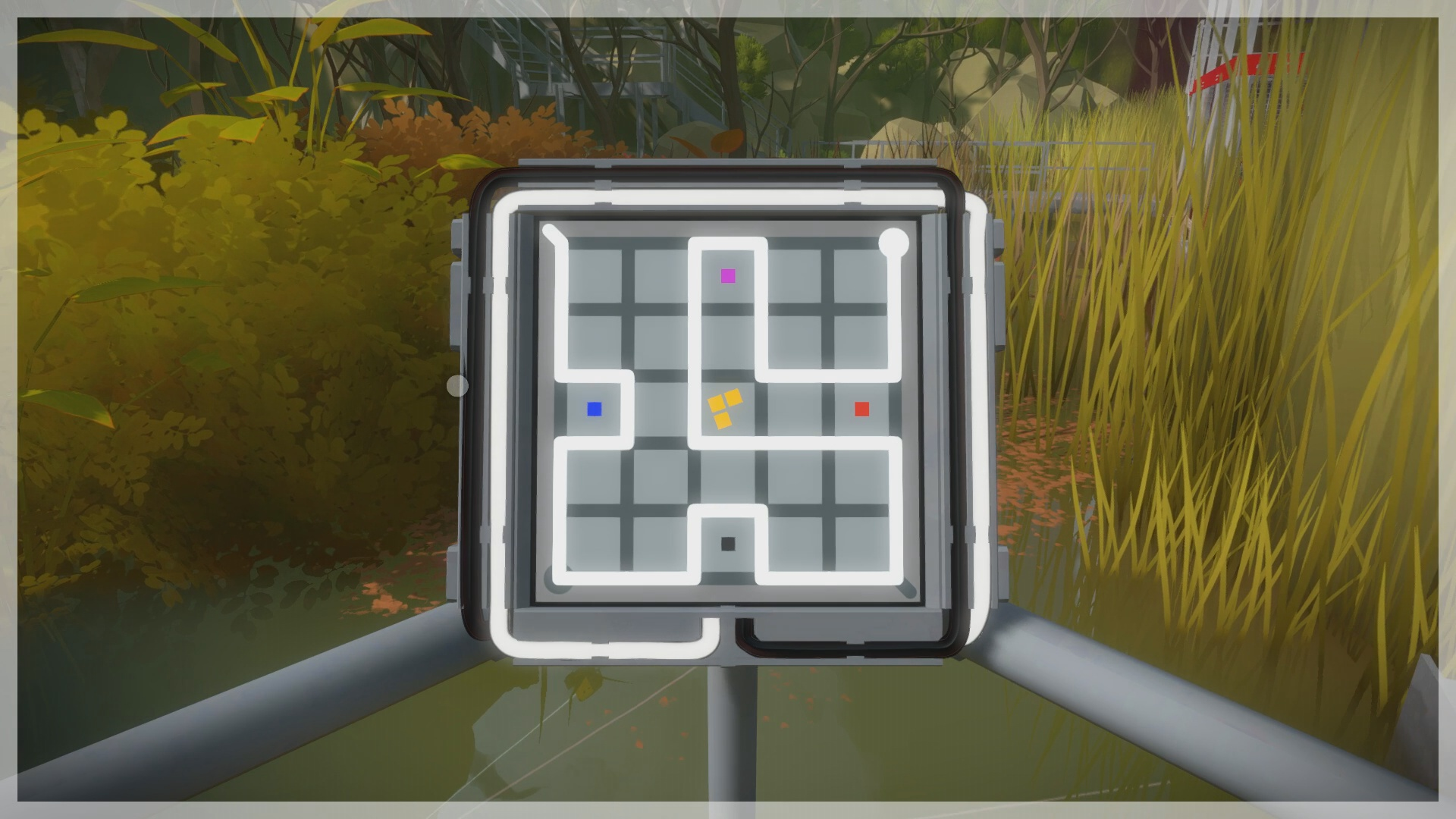 The Witness The Marsh Puzzle Solution Usgamer