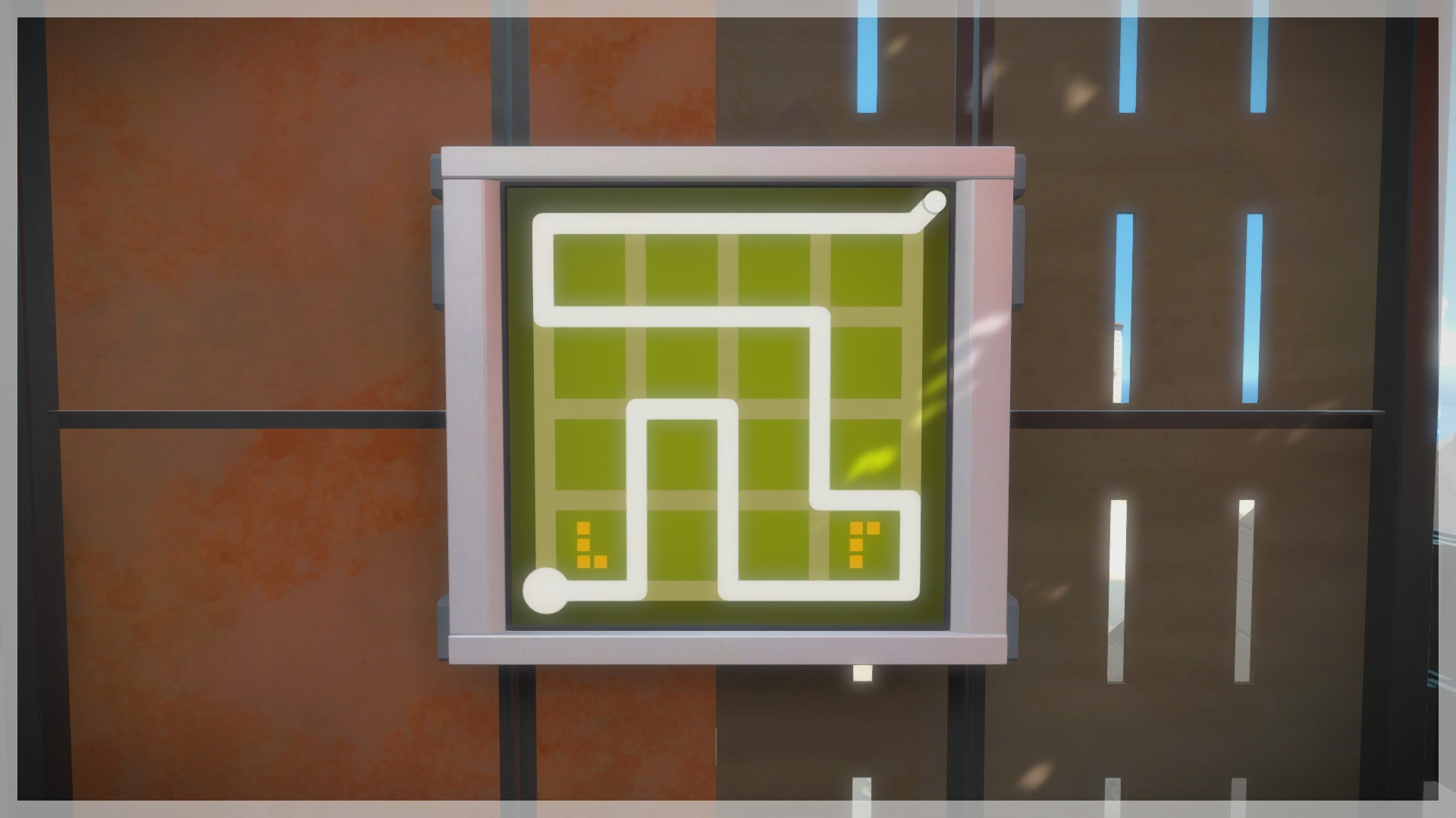 The Witness - The Quarry Puzzle Solution | USgamer