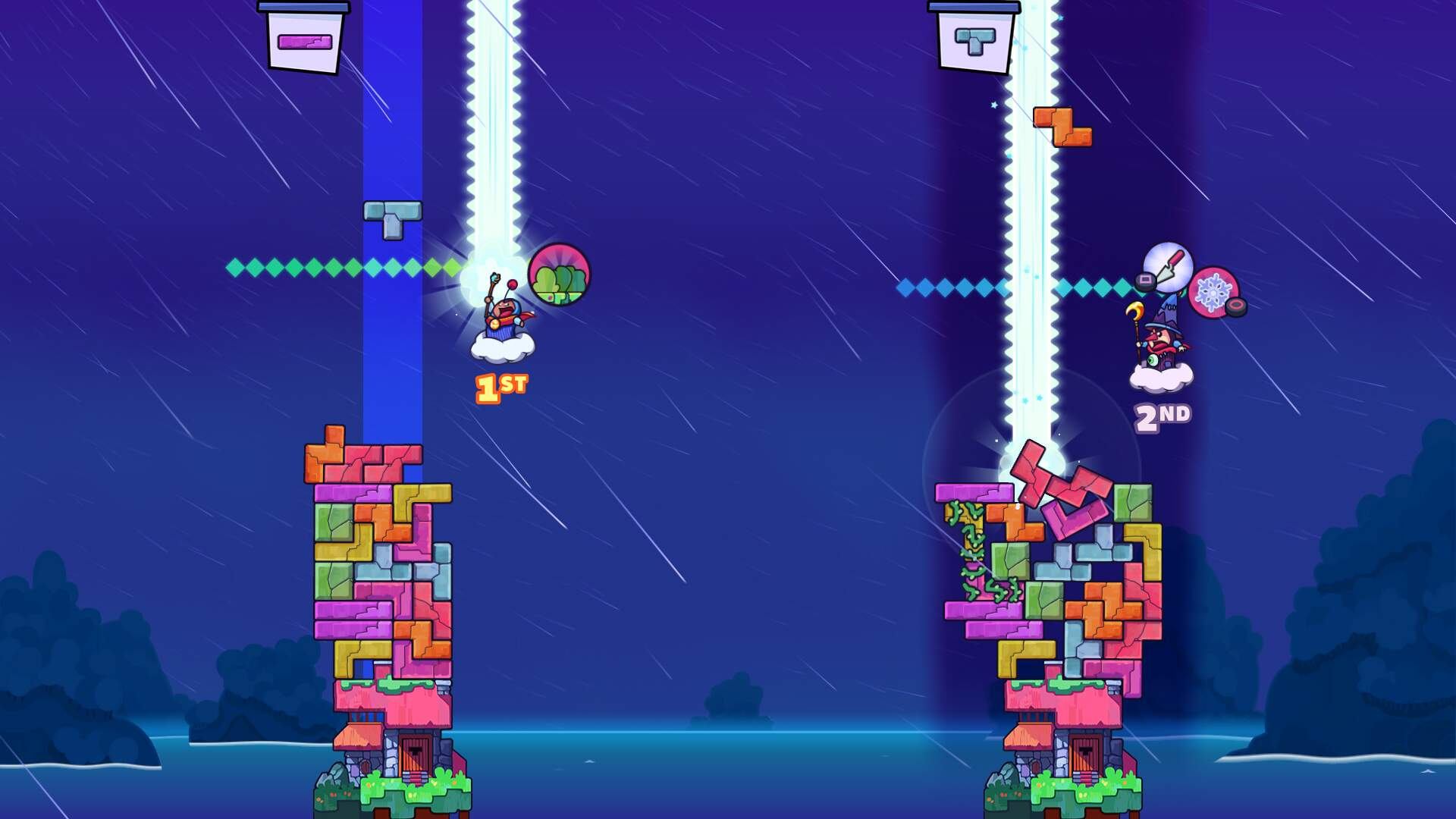 Tricky Towers PS4 Review: Competitive Tower Building with Tetrads