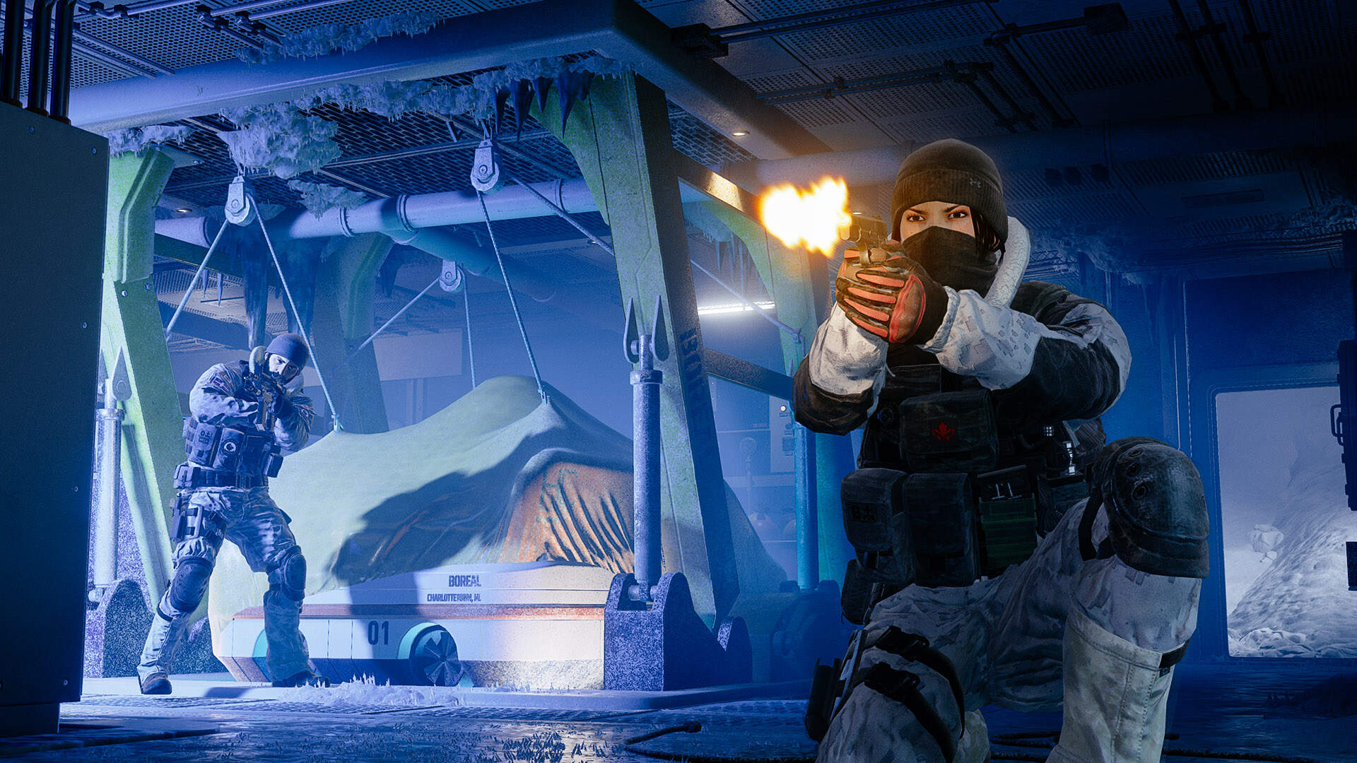 Rainbow 6 Siege Jtf2 Operator Guide Frost And Buck Usgamer