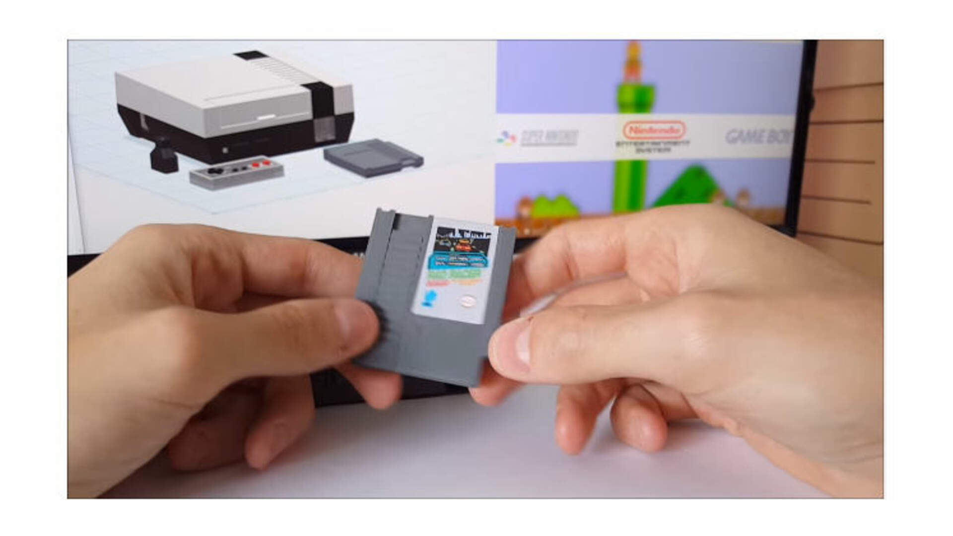 This Fan-Made Mini NES With Cartridges is Cool, but it's Not What the NES Mini Should Be