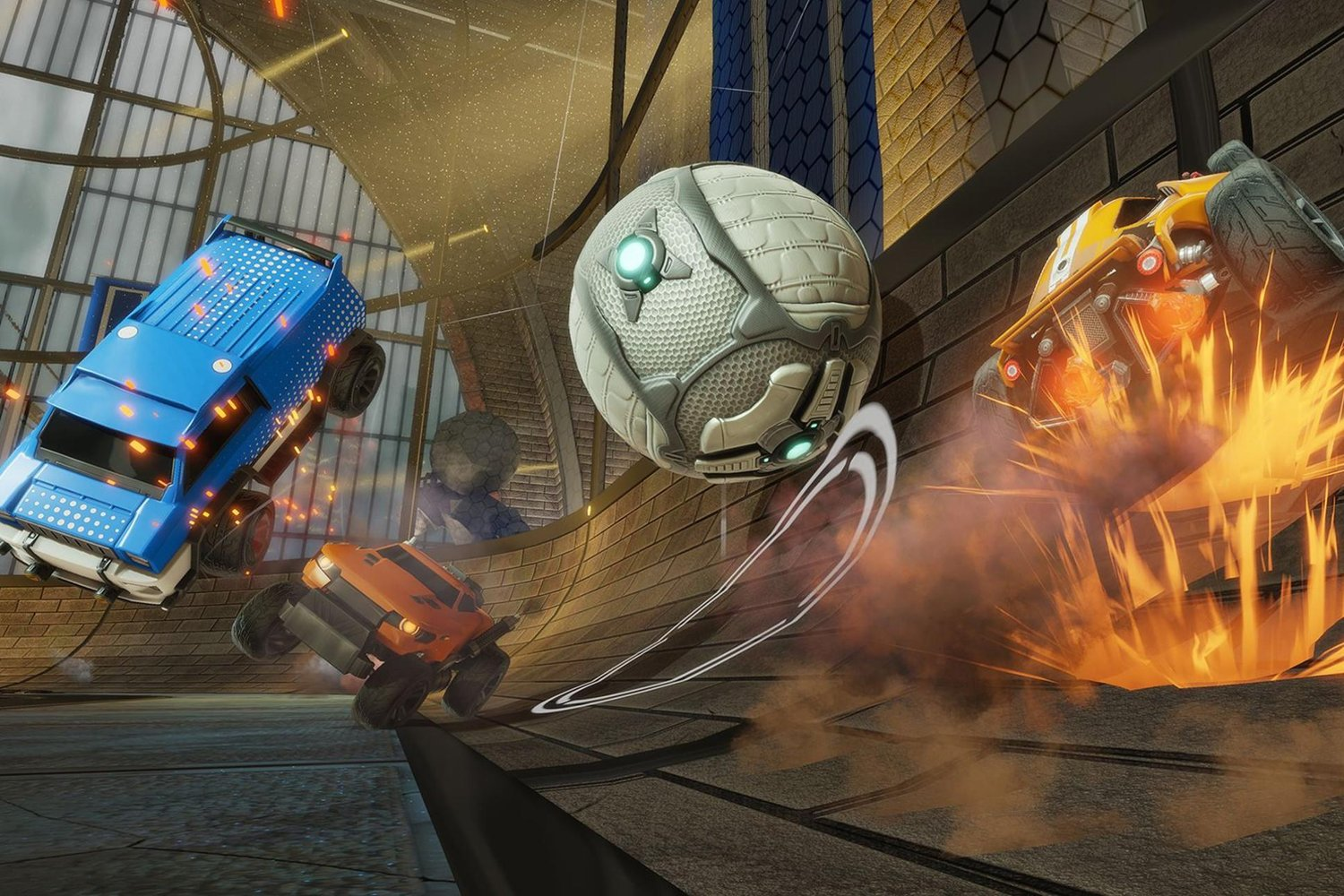 What's a Smurf in rocket League
