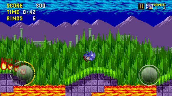 Sonic the Hedgehog's Mobile Outings Prove Stellar Action