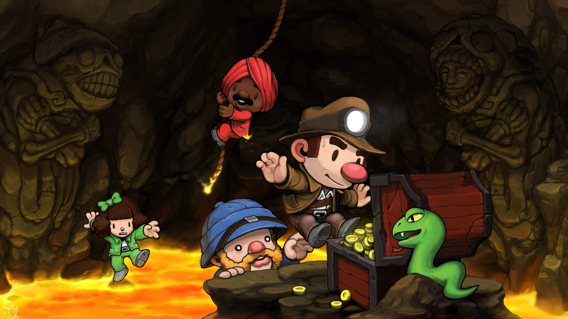 Spelunky Speedrunner Makes Two of Its Hardest Challenges Look Like a Total Breeze