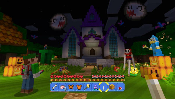 Minecraft's Super Mario Mash-Up Pays Loving Tribute to