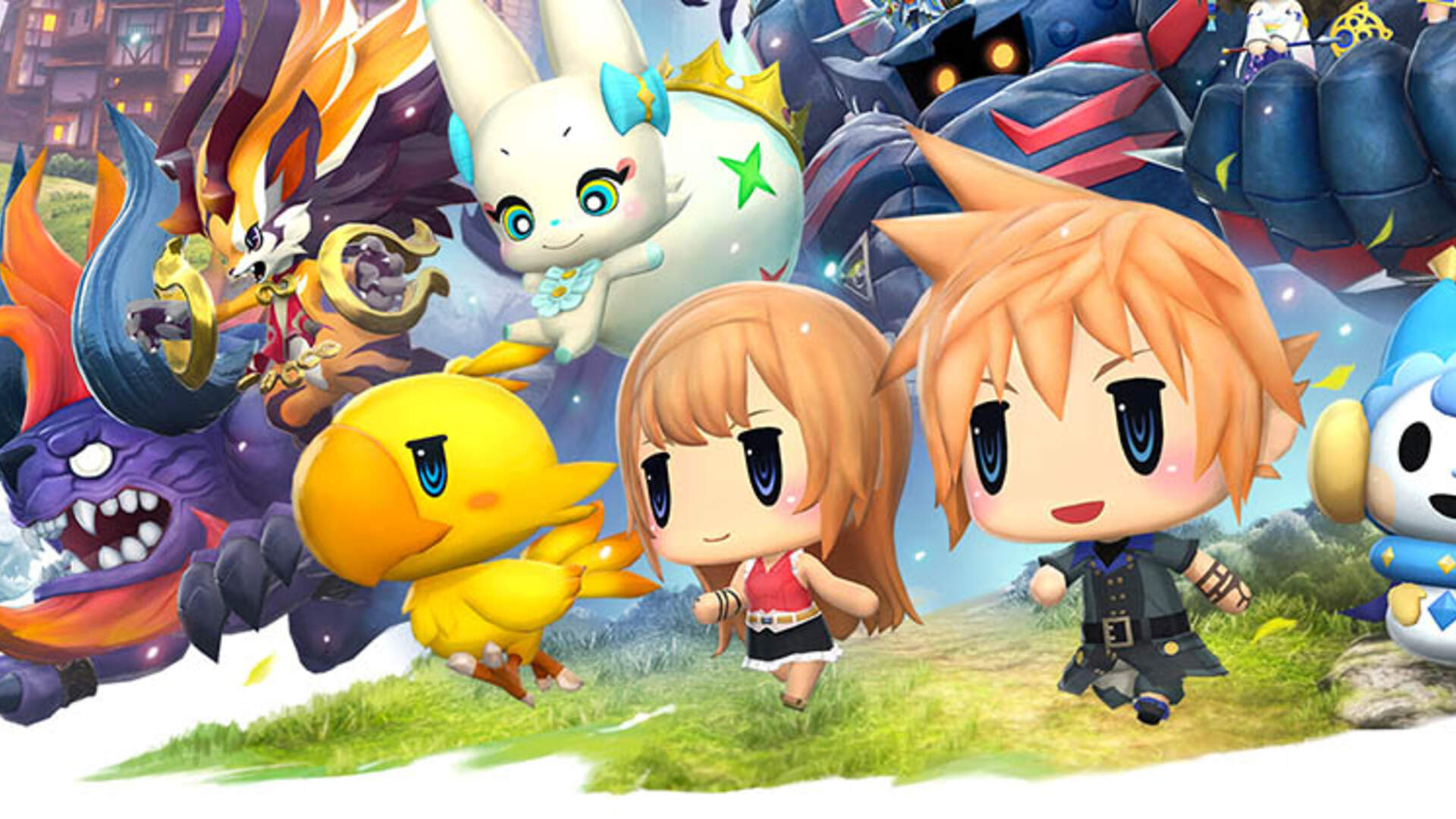 World of Final Fantasy Review-in-Progress: Day 1