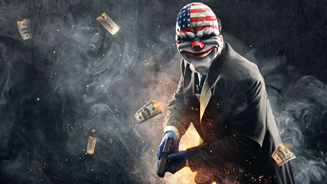 Payday's iconic masks are a regular sight at gaming and cosplay events.