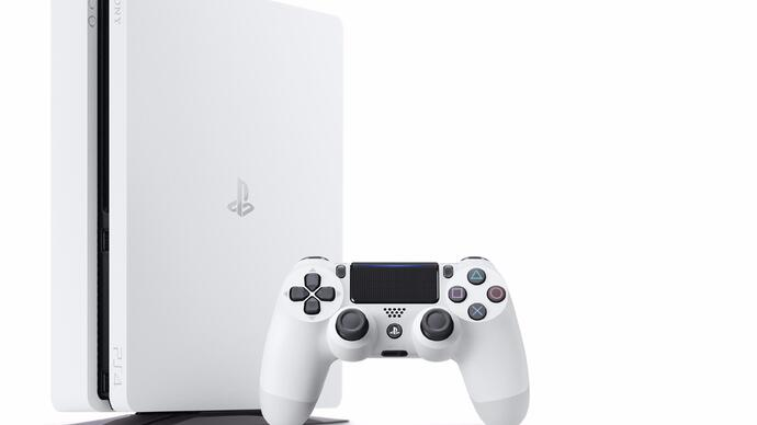 Glacier White PlayStation 4 slim model announced, released thismonth