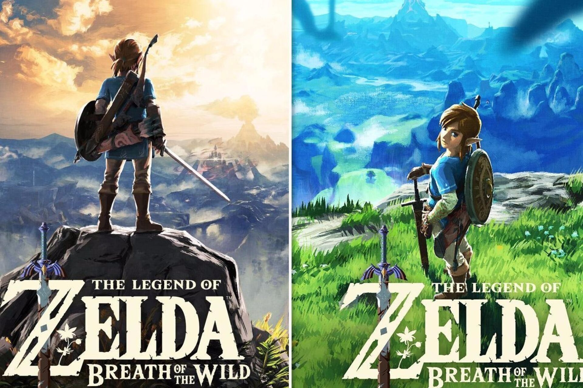 Let's compare and contrast the US and European Legend of Zelda ...