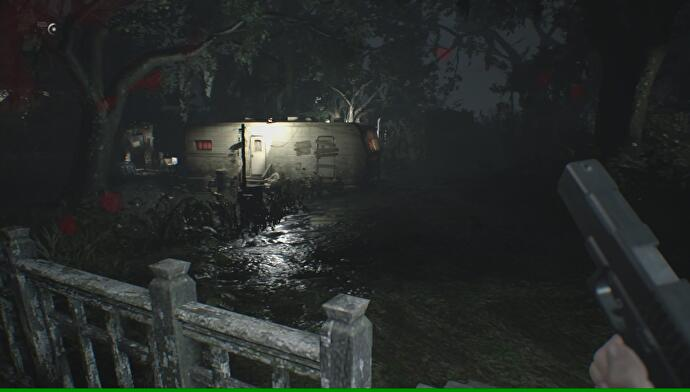 Resident Evil 7 Yard Old House Explored Where To Find