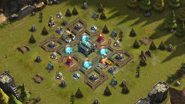 YouTubers were among those invited to Rival Kingdoms' alpha, and went on to influence the design of the game