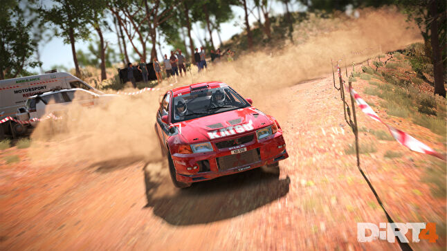Dirt 4 will have a far bigger launch than the experimental Dirt Rally