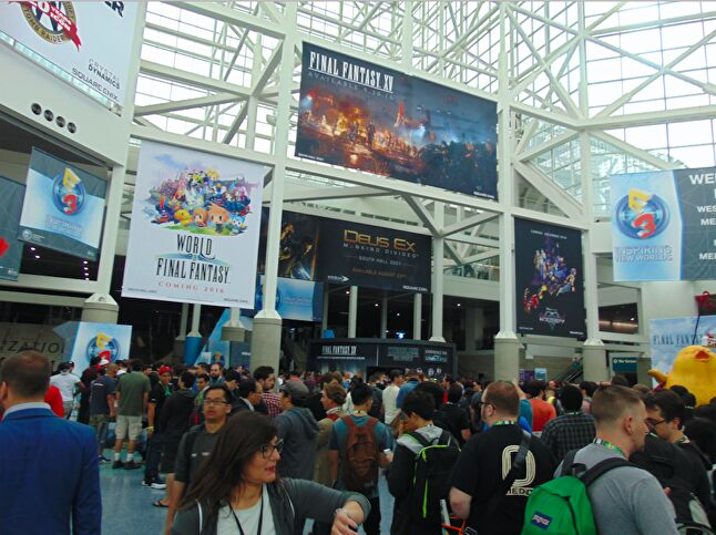 E3 is already a very busy event, now with an added 15,000 consumers