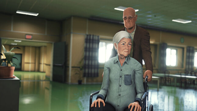 Moments of Consequence by Jonathan Nielssen is a beautiful game about a man's quest to give his dementia-afflicted wife a birthday party, meaning a stealthy escape from a hospital.