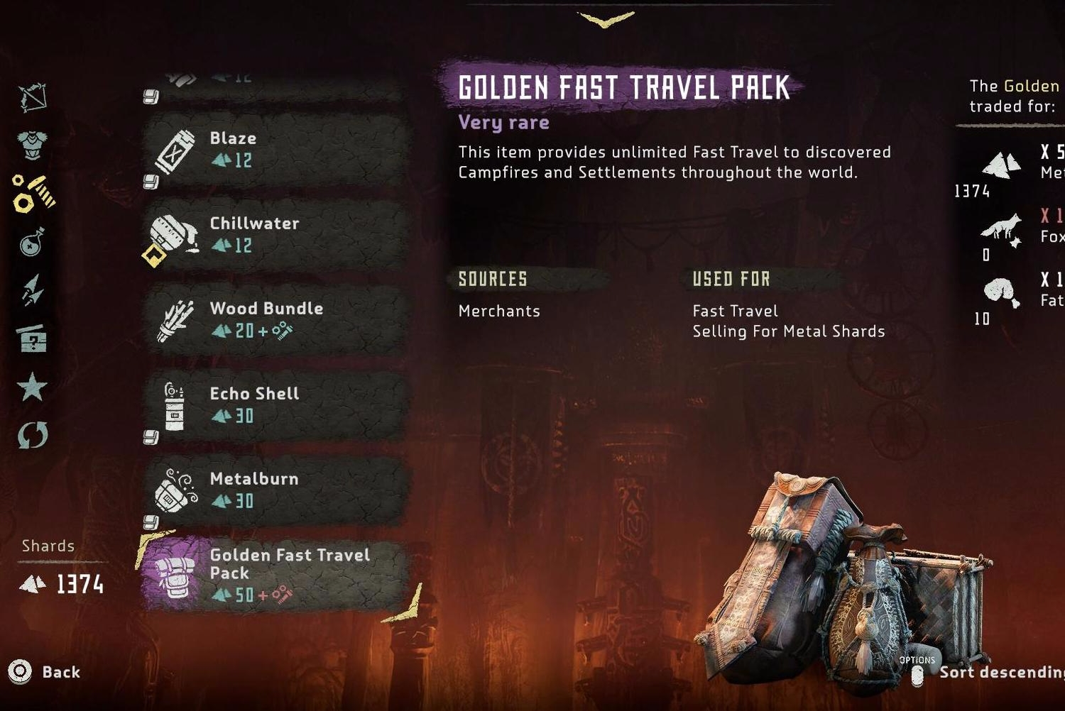 Horizon Zero Dawn Fast Travel How To Get The Golden Fast Travel