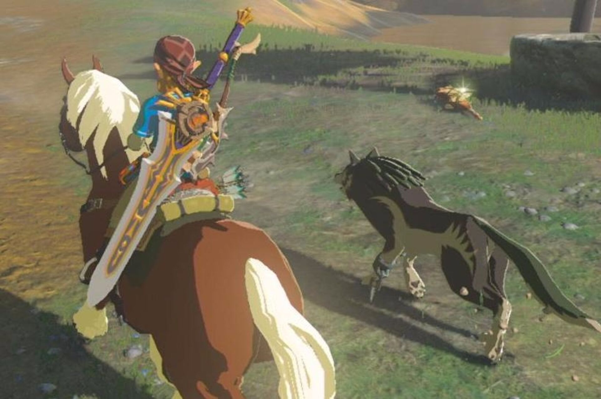 Watch: Epona's in Breath of the Wild, but as an amiibo