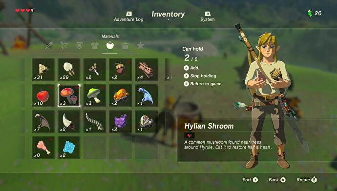 Zelda breath of the wild cooking explained ingredients list 1 forumfinder Images