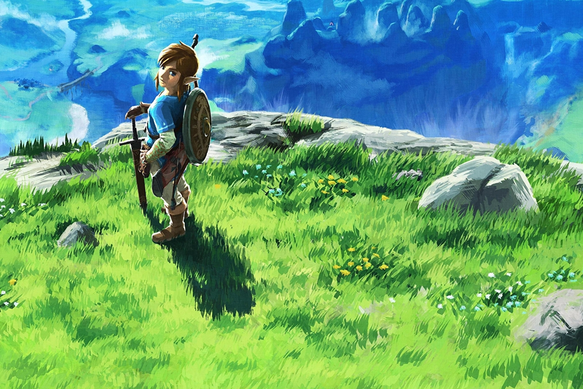 Breath of the Wild is a Zelda game for the Minecraft generation