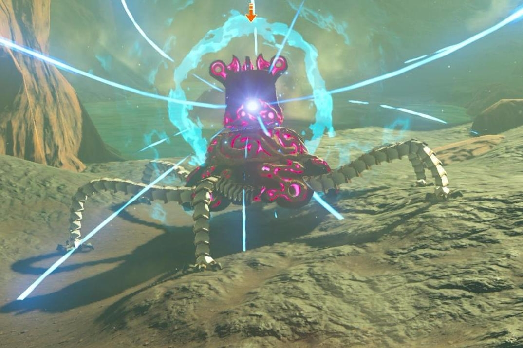 Zelda Breath Of The Wild Guardians How To Beat Guardian