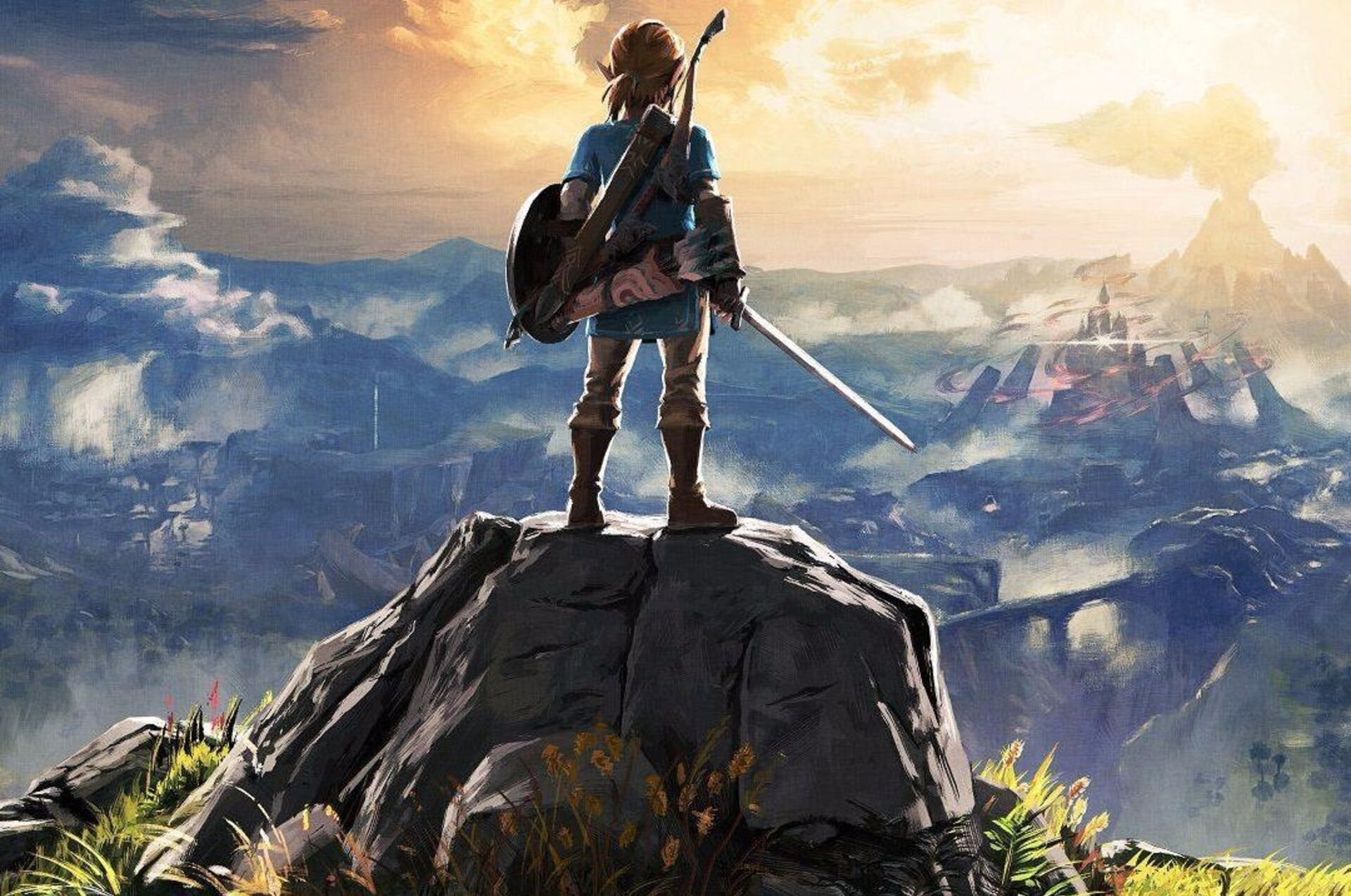 Zelda: Breath of the Wild uses dynamic resolution scaling