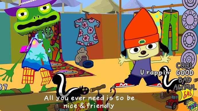 PaRappa the Rapper Remastered release date set