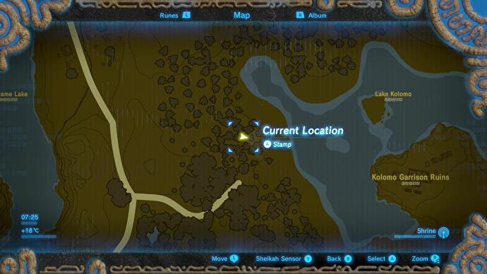 Zelda breath of the wild captured memories locations and how to captured memory 04 daruks mettle gumiabroncs Choice Image