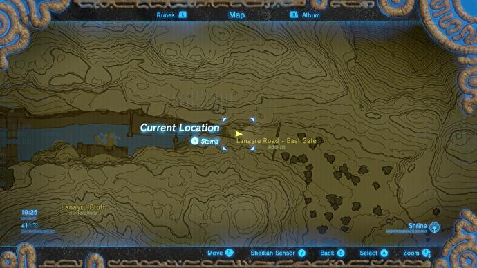 breath of the wild how to get to mount lanayru