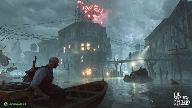 The Sinking City is set in a Lovecraftian world
