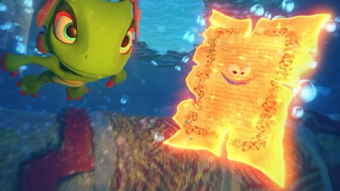 Yooka-Laylee patch targets camera issues and performance